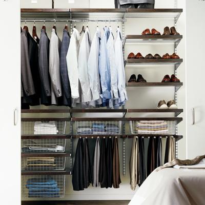 Удобная система хранения вещей для дома