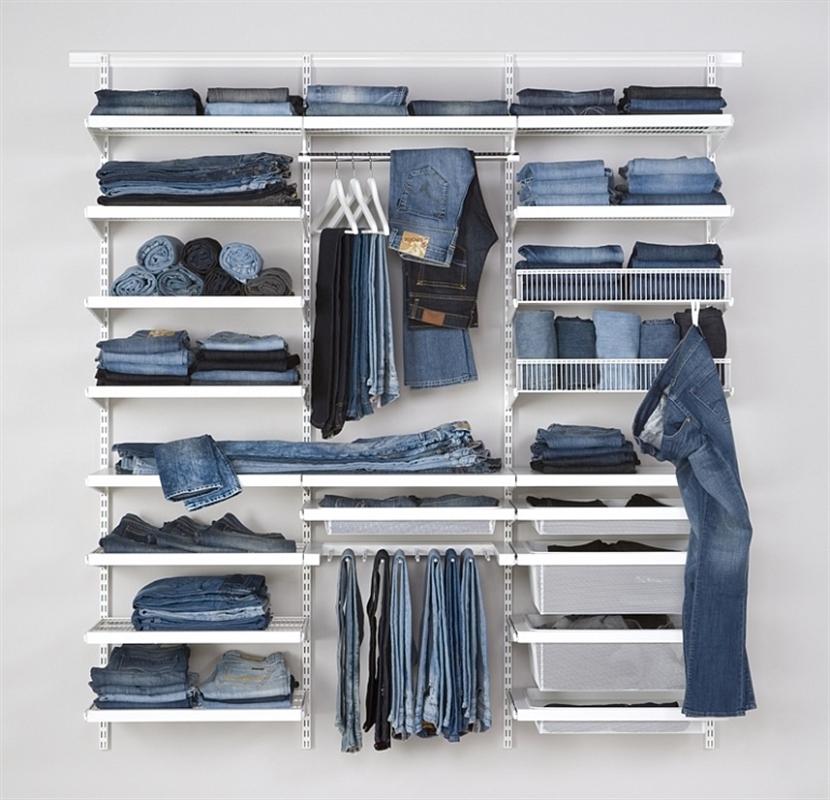 Отдельно висящая гардеробная система хранения