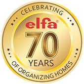 Elfa 70 лет в лидерах систем хранения