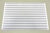 Перфорированная панель 60x38 см, белый